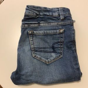 2/$20 Denim low rise bermuda shorts